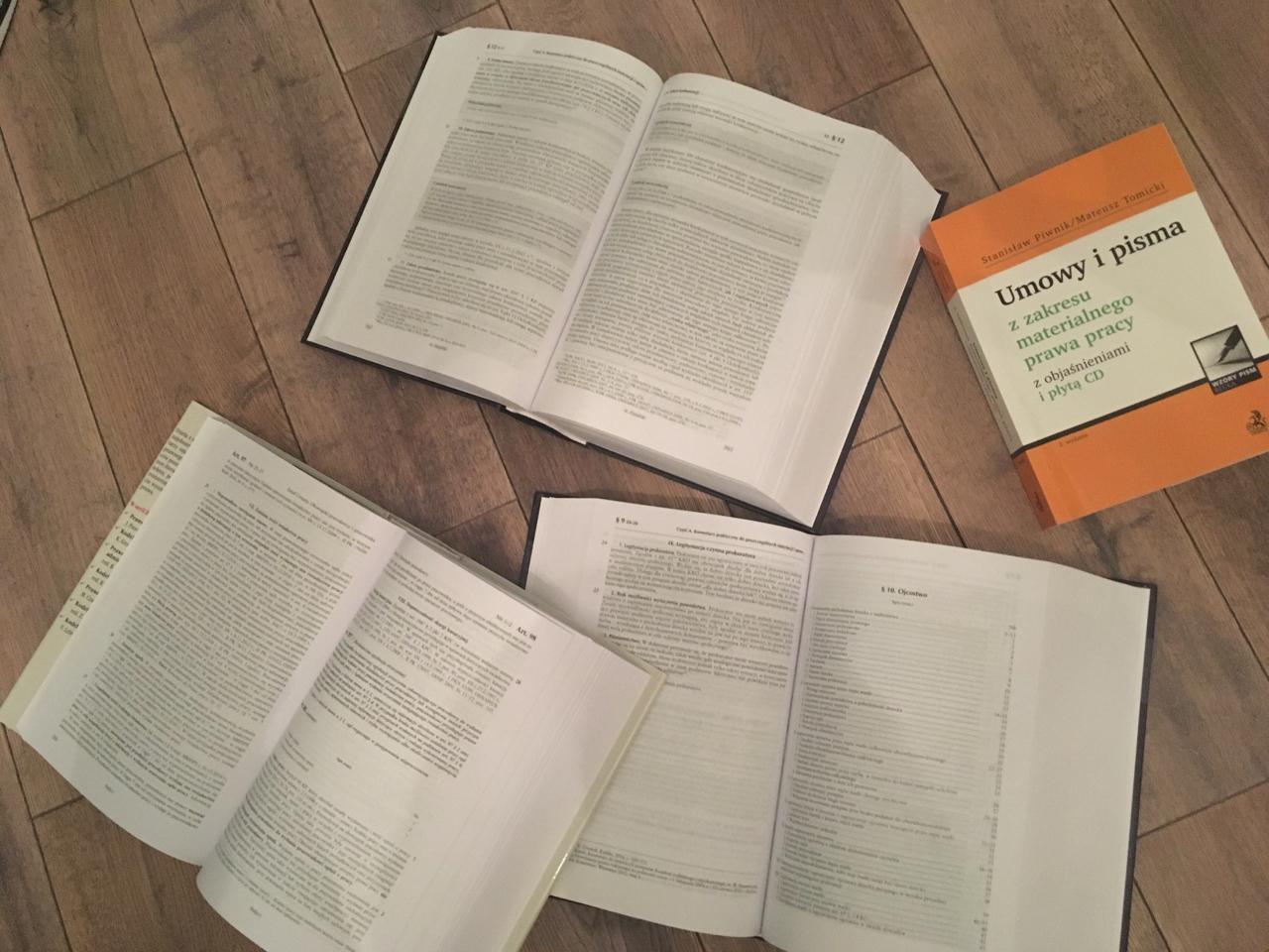 Z czego się uczyć na egzamin adwokacki?