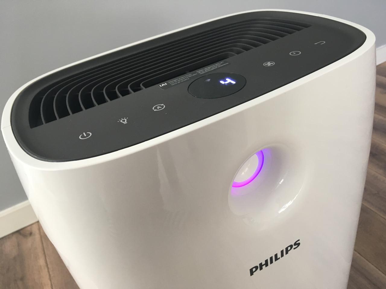 Test oczyszczacza powietrza Philips AC2889/10 (video)