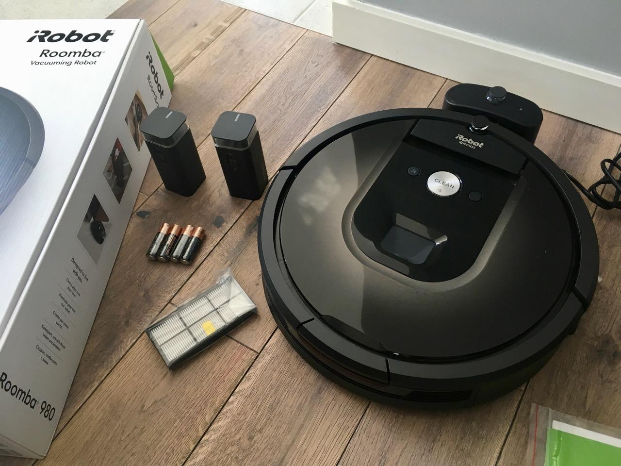 Recenzja robota sprzątającego iRobot Roomba 980