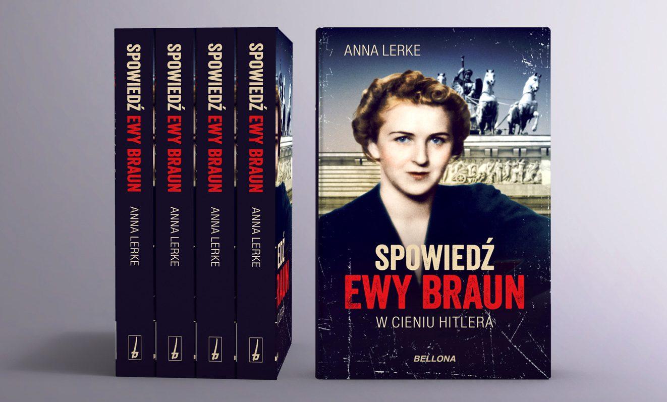 """""""Spowiedź Ewy Braun. W cieniu Hitlera"""" już w księgarniach!"""