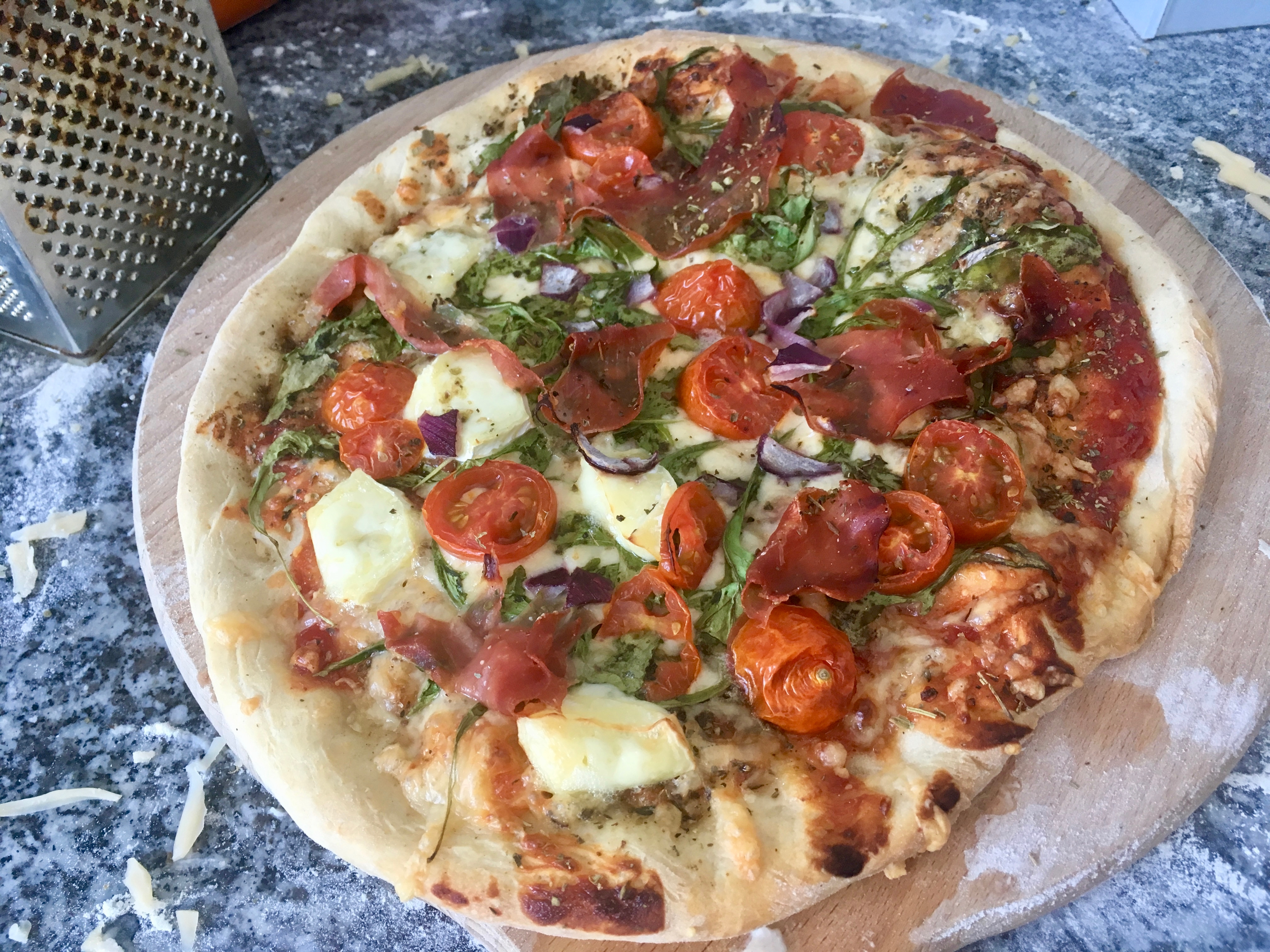 Prosty przepis na pizzę