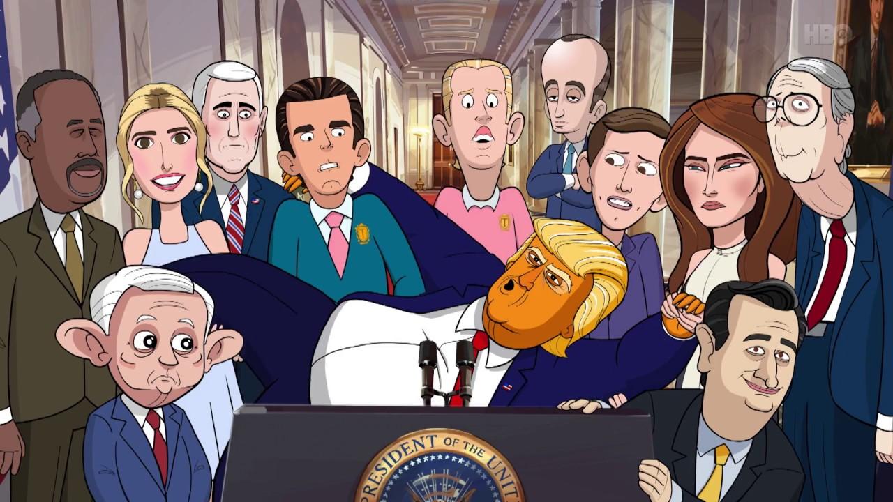 """Serial """"Prezydent z kreskówki"""" – recenzja, link do serialu"""