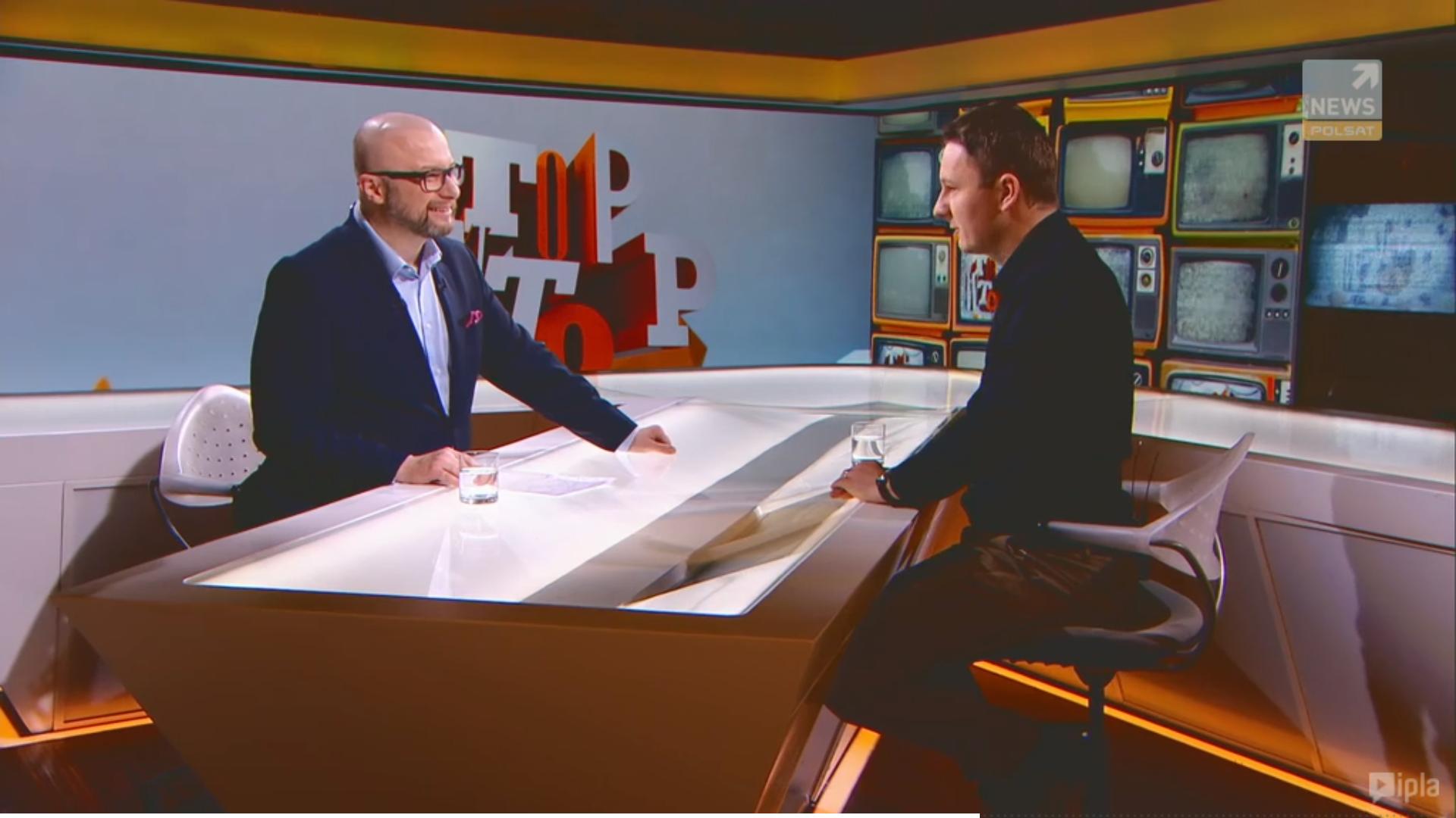 """Krzysztof Pyzia gościem """"Polsat News"""""""